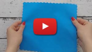 Tkanina poliestrowa wodoodporna biała - wideo