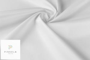 Tkanina poliestrowa 260g biała