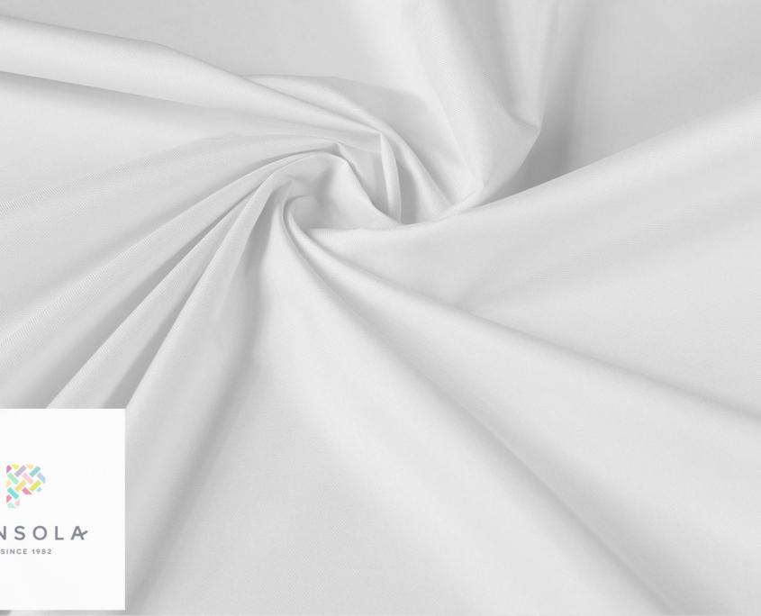 Tkanina poliestrowa wodoodporna biała