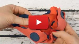 Tkanina silki - wideo