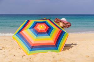 Tkanina na parasol plażowy