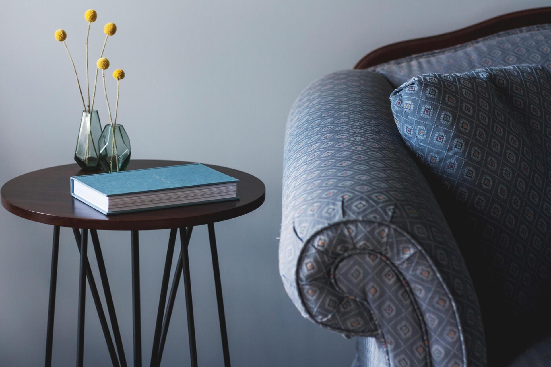 Sofa - druk na tkaninach obiciowych